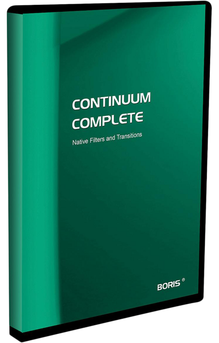 Boris Continuum Complete 8 for Adobe AE & PrPro